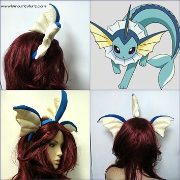 Vaporeon Pokemon Ears Headband Accessories Photo Prop