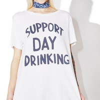 Support Day Drinking Tee