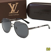 Louis Vuitton LV Trending Men Summer Sun Shades Eyeglasses Glasses Sunglasses 5#