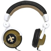 iHip New Orleans Saints DJ Headphones (Discontinued by Manufacturer)