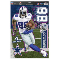 "Dallas Cowboys Dez Bryant 11""x17"" Multi-Use Decal Sheet"