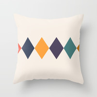 Shine Bright Like A Diamond Throw Pillow by spaceandlines