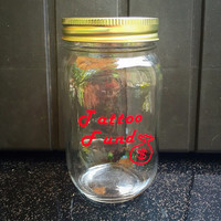 Personalized Mason Jars Beach Fund Swear Jar Tattoo Fund