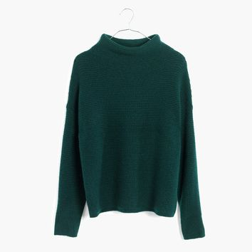 Southfield Mockneck Sweater : shopmadewell turtlenecks | Madewell