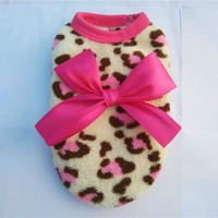 lovely dog coat for small dogs Warm pets clothing winter dog clothes u61116