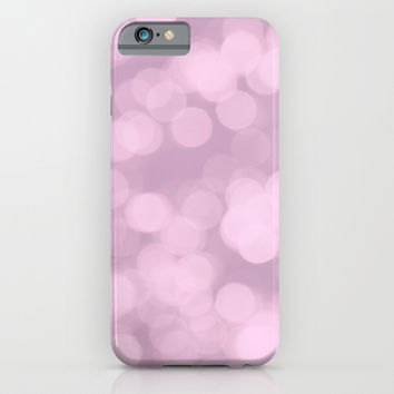Never Let Them Dull Your Sparkle - Pink iPhone & iPod Case by AlterEGO