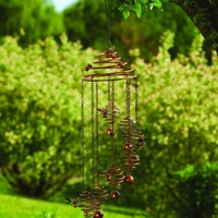Bee Spiral with Bells Mobile Wind Chime