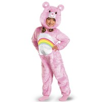 Care Bears Cheer Bear Deluxe Plush Costume - Baby/Toddler (Pink)