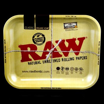 Large Metal Raw Rolling Tray - RP155