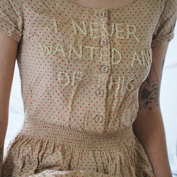 Hand-Embroidered Dress