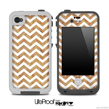 Gold Chevron Pattern for the iPhone 5 or 4/4s LifeProof Case