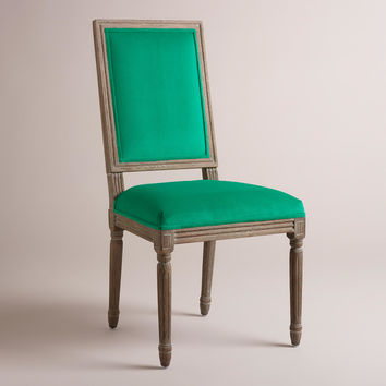 Emerald Paige Square Back Dining Chairs, Set of 2 - World Market