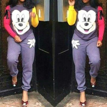 DCCKU62 MICKEY MOUSE LOVELY CASUAL TWO-PIECE