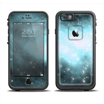 The Light & Dark Blue Space Apple iPhone 6 LifeProof Fre Case Skin Set