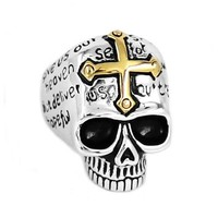 Scally Skull Ring