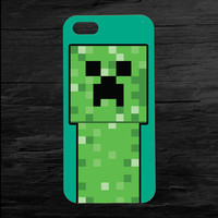 Minecraft Creeper iPhone 4 and 5 Case