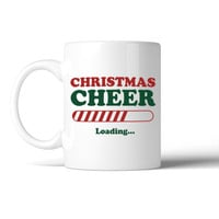 Christmas Cheer Loading Mug Christmas Gift Idea Cute Ceramic Mugs