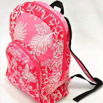 BATIK BACKPACK IN PINK