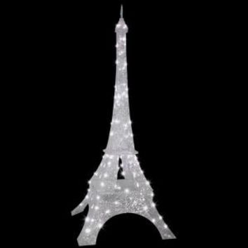 81 in. Sparkle Crystal Splendor-Eiffel Tower, 88006 at The Home Depot - Tablet