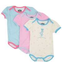 Baby 3Pc Set Screenprint Knit Tops by Juicy Couture