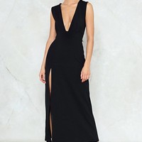 Deep on Dancing Maxi Dress
