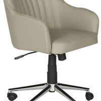 Hilda Desk Chair Grey
