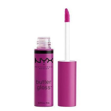 NYX Butter Gloss - Raspberry Tart - #BLG21