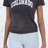Jamie Colorado Top - Prints - Graphics