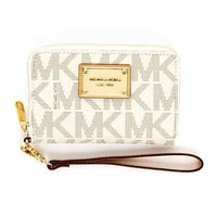 MICHAEL Michael Kors  iPhone Logo Zip Wallet - Michael Kors