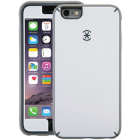 SPECK SPK-A3492 iPhone(R) 6 Plus/6s Plus MightyShell(TM) Case + Faceplate (White/Charcoal Gray/Slate)