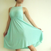 Women dress/ Bridesmaid dress/ Mint bridesmaid dress/ Maternity dress/ Women bridesmaid dress/ Cocktail dress/ Maternity clothing