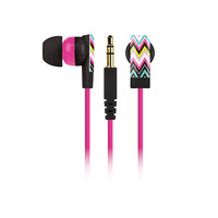 Fashion Earbuds - Silver Leopard