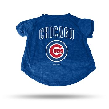 Chicago Cubs Pet Tee Shirt