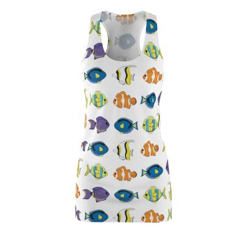 Tropical Fish Women's Racerback Dress