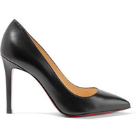 Christian Louboutin - Pigalle 100 leather pumps