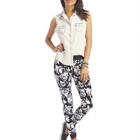 Soft Floral Print Jogger Pants | Wet Seal