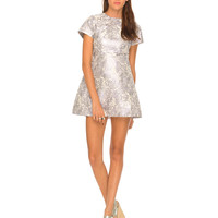 Motel Cheeky Cut Out Dress in Lilac Haze