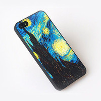 Van Gogh The Starry Night Color Phone Case For iPhone 5 from Charming Galaxy
