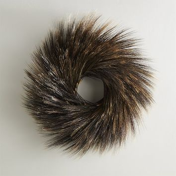 Dark Wheat Wreath