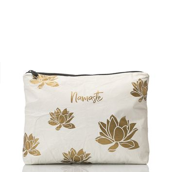 ALOHA Collection - Medium Lotus Pouch