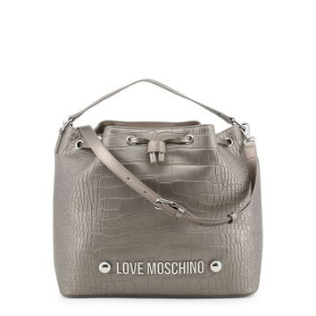 Love Moschino- Drawstring Bucket Bag