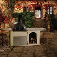 Bull Outdoor Products Pizza Oven Collection Built-In Pizza Oven Set   www.hayneedle.com