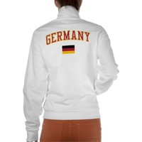 Germany + Flag T-shirt from Zazzle.com