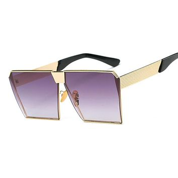 New fashion Steampunk Square Sunglasses