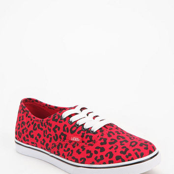Vans Leopard Canvas Authentic Low Pro Sneaker