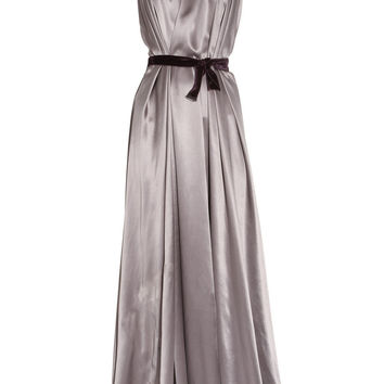 Roksanda Ilincic Two-tone silk-satin gown - 65% Off Now at THE OUTNET