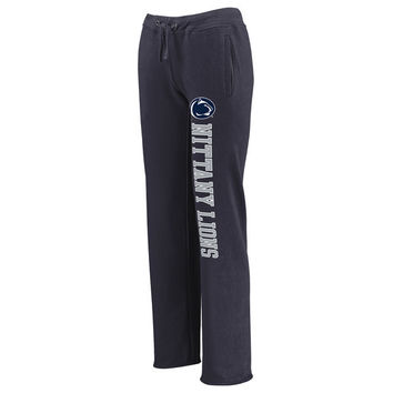 Women's Fanatics Branded Navy Penn State Nittany Lions Sideblocker Sweatpants