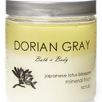 Dorian Gray Fragrant Foot Scrub-Japanese Lotus Blossom