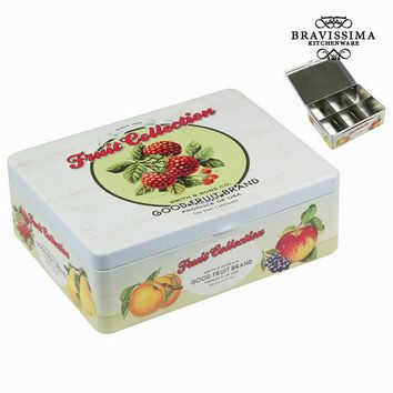 Teabags tin box fruits - Kitchen's Deco Collection by Bravissima Kitchen