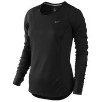 Nike Dri-Fit Racer Long Sleeve Top - Women's at Lady Foot Locker